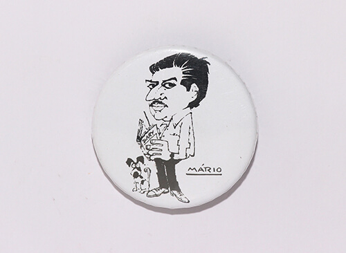 Mario Miranda - Badge