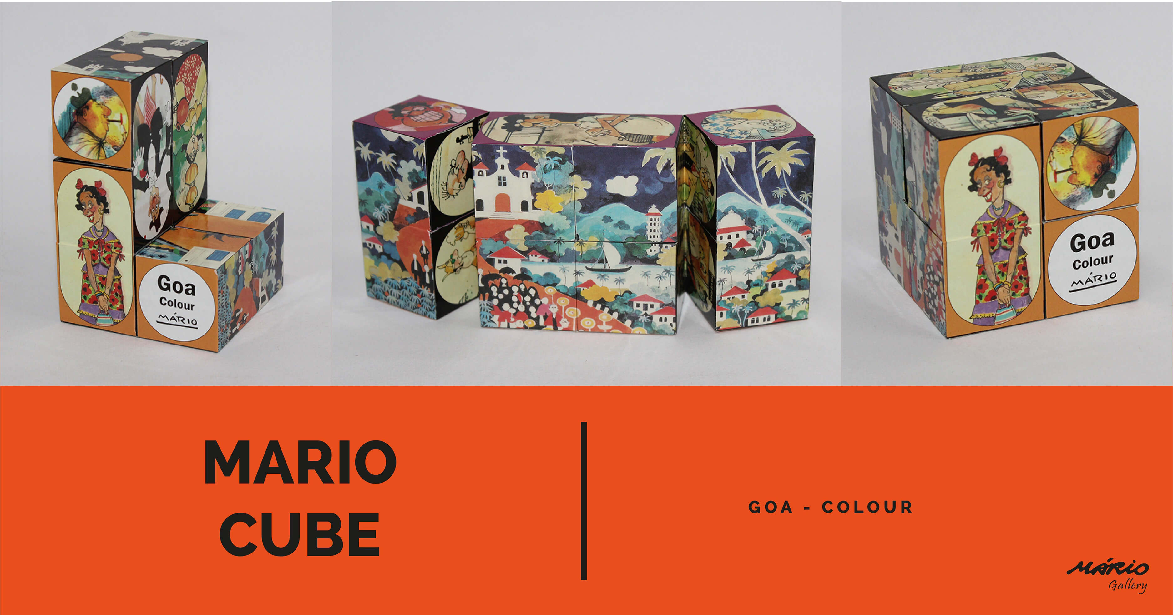Cubes Goa Colour