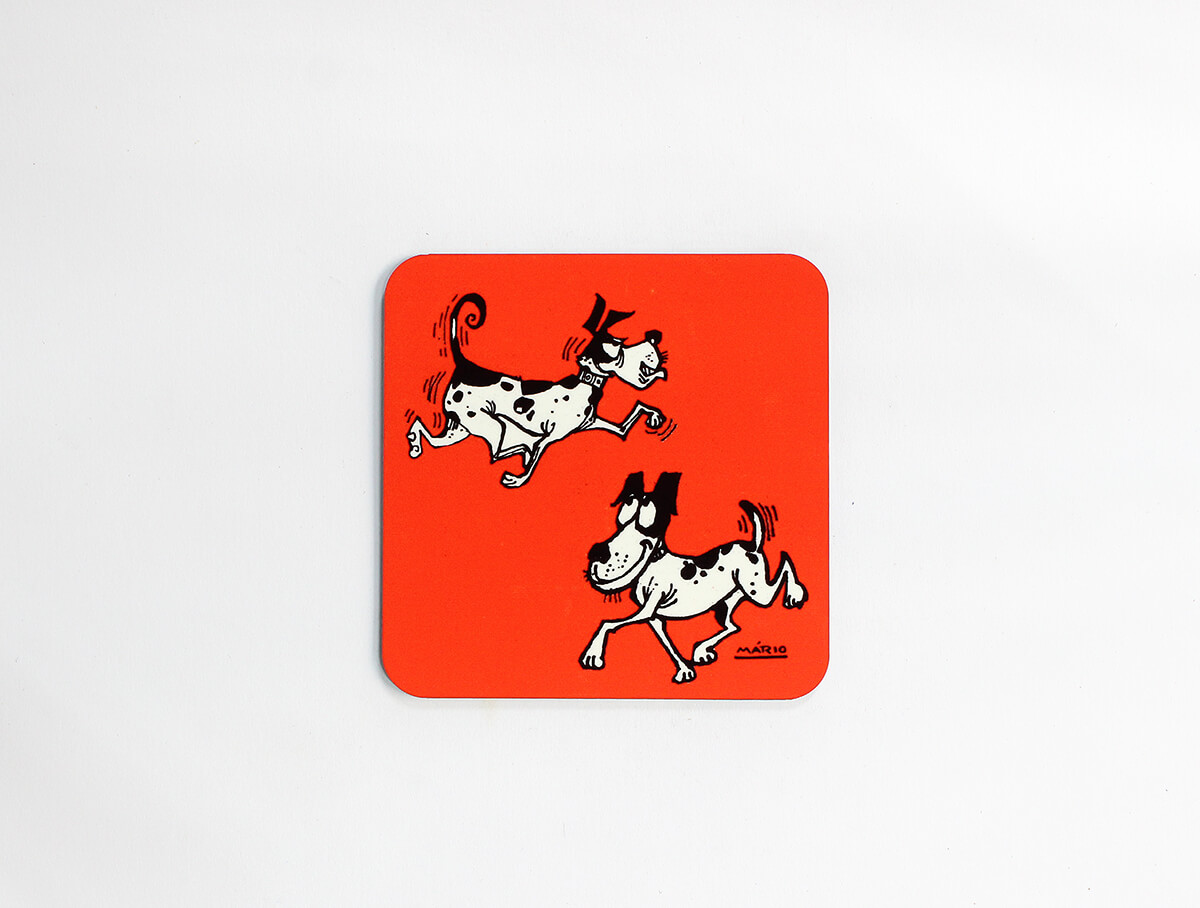 Coaster Ind. - Dogs Running